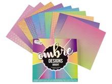 Craft Sensations Ombre Designs Bright Pattern 15,2 x 15,2 cm 100 Grams (CR0378/GE)