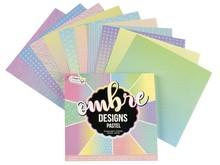 Craft Sensations Ombre Designs Pastel Pattern 15,2 x 15,2 cm 100 Grams (CR0378/GE)