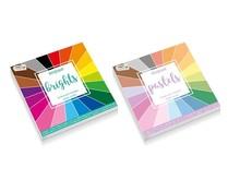 Craft Sensations BUNDLE Designpad Brights & Pastels 10 x 10 cm 100 Grams (CR0848/GE)
