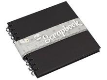 Craft Sensations Scrapbook Mini Album Black 15,2 x 15,2 cm (CR0922/GE)