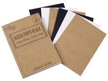 Craft Sensations Mixed Paper Block A6 110/220 Grams (CR0819/GE)