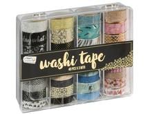 Craft Sensations Washi Tape In Storage Box 40pcs (CR0517/GE)