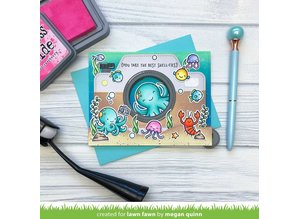 Lawn Fawn Ocean Shell-fie Clear Stamps (LF2329)