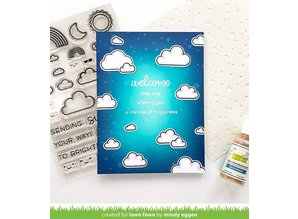 Lawn Fawn All the Clouds Clear Stamps (LF2331)