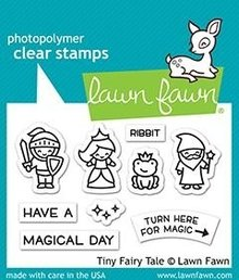 Lawn Fawn Tiny Fairy Tale Clear Stamps (LF2325)