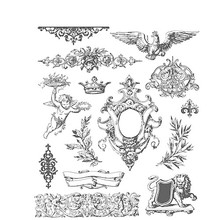 Stampers Anonimous Cling Stamps Urban Elements (CMS398)