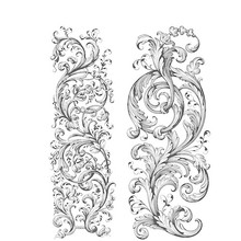 Stampers Anonimous Cling Stamps Baroque (CMS400)