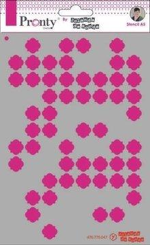 Pronty Crafts Masking Stencil A5 Pattern Background 3 (470.770.047)
