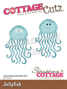 Scrapping Cottage CottageCutz Jellyfish (CC-758)