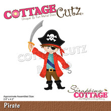 Scrapping Cottage CottageCutz Pirate (CC-762)