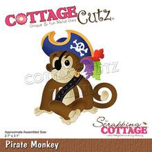 Scrapping Cottage CottageCutz Pirate Monkey (CC-763)