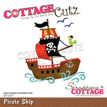 Scrapping Cottage CottageCutz Pirate Ship (CC-764)