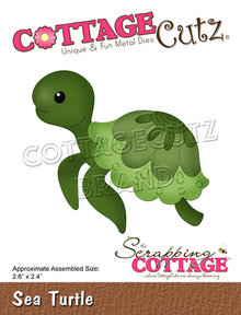 Scrapping Cottage CottageCutz Sea Turtle (CC-766)
