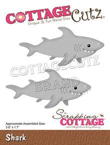 Scrapping Cottage CottageCutz Sea Shark (CC-767)
