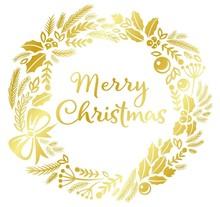 Gemini Foil Stamp Die Merry Christmas Create A Card (GEM-FS-CAC-MECH)