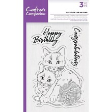 Crafter's Companion Cattitude Clear Stamps (CC-STP-CATT)