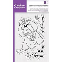 Crafter's Companion Paws for Thought Clear Stamps (CC-STP-PFT)