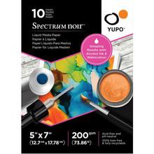 Spectrum Noir Yupo Liquid Media Paper 5x7 Inch (10pcs) (SN-YU10-5X7S)