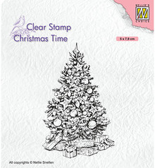 Nellie Snellen Christmas Tree Clear Stamp (CT035)