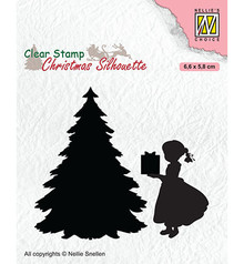 Nellie Snellen Thank You Santa!! Clear Stamp (CSIL013)