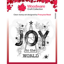 Woodware Singles Joy Clear Stamp Set (FRS083)