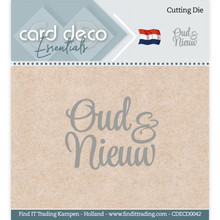 Card Deco Snijmal Oud & Nieuw (CDECD0042)