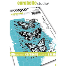 Carabelle Studio Butterflies Cling Stamp (SA70172)