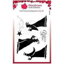 Woodware Singles Bringing Gifts Clear Stamp Set (FRS836)