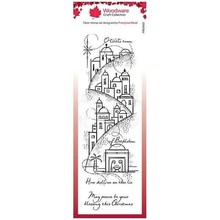 Woodware Singles Peaceful Night Clear Stamp Set (FRS400)