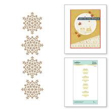 Spellbinders Snowflake Sparkle Border Glimmer Hot Foil Plates (GLP-200)