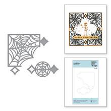 Spellbinders Snijmal Spider Web Corners Card Creator Etched Dies (S2-309)