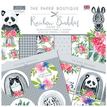 The Paper Boutique Buddies 8x8 Inch Paper Kit (PB1373)