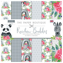 The Paper Boutique Buddies 8x8 Inch Decorative Papers (PB1374)