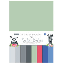 The Paper Boutique Buddies Colored Card Collection (PB1377)