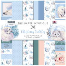 The Paper Boutique Christmas Cuddles 12x12 Inch Card Making Pad (PB1366)