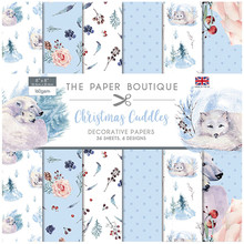 The Paper Boutique Christmas Cuddles 8x8 Inch Decorative Papers (PB1362)