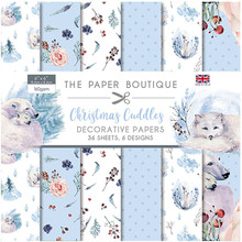 The Paper Boutique Christmas Cuddles 6x6 Inch Paper Pad (PB1367)