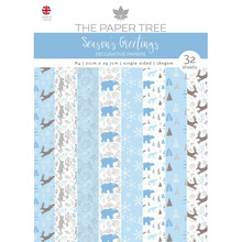 The Paper Boutique Season's Greetings Decorative Papers (PTC1121)