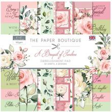 The Paper Boutique A Bouquet Of Sunshine 8x8 Inch Embellishment Pad (PB1358)