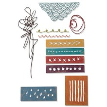 Sizzix Thinlits Alterations Colorize Media Marks (664436)