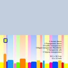 JEJE Produkt Acetate Sheets 12x12 Inch (3.1020)