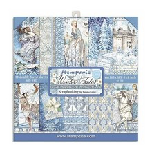 Stamperia Winter Tales 8x8 Inch Paper Pack (SBBS19)