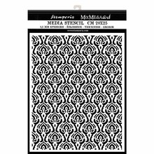 Stamperia Mixed Media Stencil Thick 20x25cm Winter Tales Texture 1 (KSTD049)
