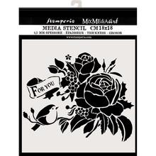 Stamperia Media Stencil For You (KSTDQ47)