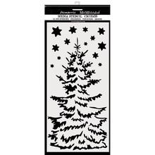 Stamperia Media Stencil Christmas Tree (KSTDL36)