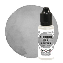 Couture Creations Alcohol Ink Pewter 12ml (CO727331)