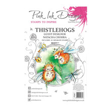 Pink Ink Designs Thistlehogs A5 Clear Stamp Set (PI067)