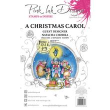 Pink Ink Designs A Christmas Carol A5 Clear Stamp Set (PI079)