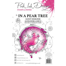 Pink Ink Designs In A Pear Tree A5 Clear Stamp Set (PI082)