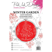 Pink Ink Designs Winter Garden A5 Clear Stamp Set (PI084)